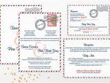 Free Vietnamese Wedding Invitation Template Vietnamese Airmail Bilingual Wedding Invitation