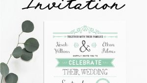 Free Wedding Invitation Template Jpg Free Wedding Invitation Template Mountainmodernlife Com