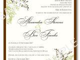 Free Wedding Invite Samples Wedding Invitation Templates 03