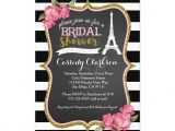 French Party Invitation Templates French Paris Bridal Shower Invitation Paris Bridal