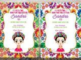 Frida Kahlo Party Invitations Frida Kahlo Invitation Invitaciones Frida Frida Kahlo