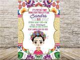 Frida Kahlo Party Invitations Frida Kahlo Invitation Invitaciones Frida Kahlo Frida