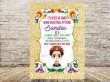 Frida Kahlo Party Invitations Frida Kahlo Invitation