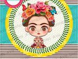 Frida Kahlo Party Invitations Frida Kahlo Invitations Frida Kahlo Birthday Invitations
