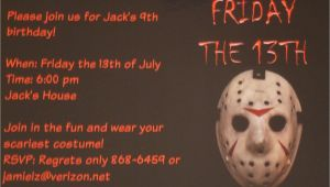 Friday the 13th Birthday Party Invitations 13th Birthday Party Invitation Ideas Bagvania Free