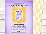 Friends themed Party Invitations Unique Bridal Showers A Friends Tv Show Central Perk
