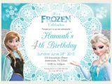 Frozen Birthday Invitation Template 12 Frozen Birthday Invitation Psd Ai Vector Eps