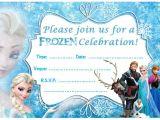 Frozen Birthday Invitation Template 24 Frozen Birthday Invitation Templates Psd Ai Vector
