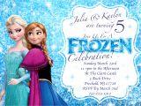 Frozen Birthday Invitation Template Disney S Frozen Winter Birthday Invitation Printable
