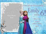 Frozen Birthday Invitation Template Elsa Frozen Birthday Party Invitation Ideas Bagvania