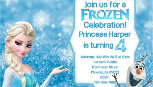 Frozen Birthday Invitation Template Frozen Birthday Invitation Frozen Birthday by