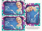Frozen Birthday Invitations Printable Frozen Colored Free Printable Party Kit