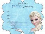 Frozen Birthday Invitations Printable Frozen Party