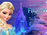 Frozen Birthday Party Invitations Online Using Frozen theme for Girl S Party Invitations