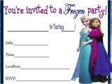 Frozen Birthday Party Invitations Printable 9 Best Images Of Frozen Birthday Invitations Printable