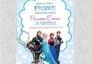 Frozen Birthday Party Invitations Printable Free Frozen Birthday Invitation Template Wedding