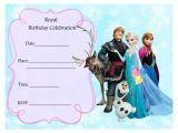 Frozen Birthday Party Invitations Printable Free Frozen Party Invitations Frozen Party Pinterest