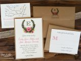 Full Wedding Invitation Sets Incredible Full Wedding Invitation Sets Rustic Illustrated