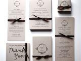 Full Wedding Invitation Sets Wedding Invitations Rsvp Postcards Earthy and Economical