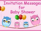 Funny Baby Shower Invite Messages Invitation Messages for Baby Shower Invitation Wordings Sample