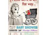 Funny Baby Shower Invite Wording Funny Devil Baby Shower Invitations