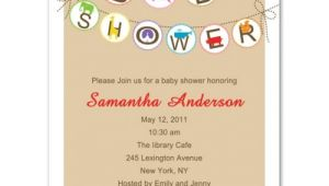Funny Baby Shower Invite Wording Funny Trendy Animals Neutral Baby Shower Invitation Bs036
