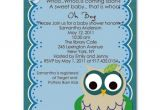 Funny Baby Shower Invites Wording Funny and Adorable Owl Baby Shower Invitations Bs221