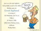 Funny Birthday Invitation Wording for Adults Funny Birthday Party Invitation Wording Wordings and