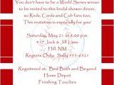 Funny Bridal Shower Invitation Wording Baseball Bridal Couple Shower Invitation All Star Bride