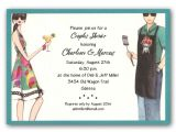 Funny Couples Baby Shower Invitations Grilling Fun Couples Shower Invitations Clearance