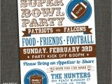 Funny Super Bowl Party Invitation Wording Michele Purner Designs