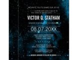 Galaxy Birthday Invitation Template Blue Galaxy Bar Mitzvah Party Invite Zazzle Com Au