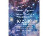 Galaxy Birthday Invitation Template Nebula Cosmic Space Galaxy Colourful Invitation Zazzle Co Uk