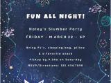 Galaxy Birthday Invitation Template Sleepover Party Invitation Templates Free Greetings island