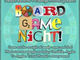 Game Night Party Invitations 15 Best Photos Of Board Game Night Invitation Wording