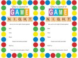 Game Night Party Invitations Host A Game Night Party Mom Loves Baking