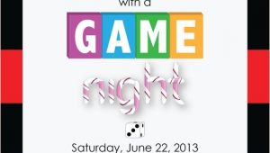 Game Night Party Invitations Printable Game Night Party Invitation by Designcaddie On Etsy