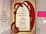 Game Of Thrones Party Invitation Wording Game Of Thrones Inspired Dragon Invitation Dragon Invitation