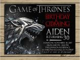 Game Of Thrones Party Invitation Wording Game Of Thrones Invitation Game Of Thrones Birthday Party