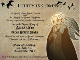 Game Of Thrones Party Invitation Wording Game Of Thrones Party