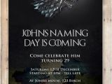 Game Of Thrones Party Invitation Wording Katy Lilley On Etsy