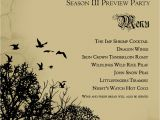 Game Of Thrones Viewing Party Invitations Game Of Thrones S3 Premier Viewing Party