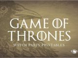 Game Of Thrones Watch Party Invitation Invitation Maker Game Invitation Sample and