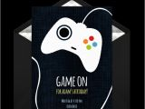 Gaming Party Invitation Template Free Game Controller Invitations In 2019 Boy Birthday