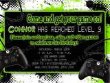 Gaming Party Invitation Template Video Game Party Birthday Party Invitation with or by