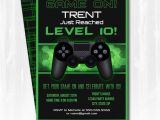 Gaming Party Invitation Template Video Game Party Invitations Video Game Invitation by
