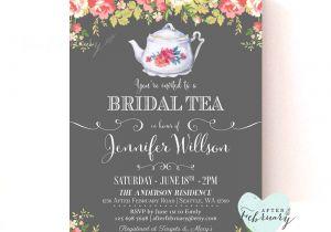 Garden Tea Party Bridal Shower Invitations Bridal Shower Invite Bridal Shower Invite Wording Card