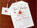 Garden Tea Party Bridal Shower Invitations Tea Party Bridal Shower Invitations Tea Parties Bridal