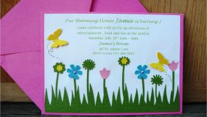 Garden themed Baby Shower Invitations Adorable Garden Baby Shower Margusriga Baby Party