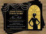 Gatsby Bridal Shower Invitations Great Gatsby Invitation Gatsby Bridal Shower Invitation